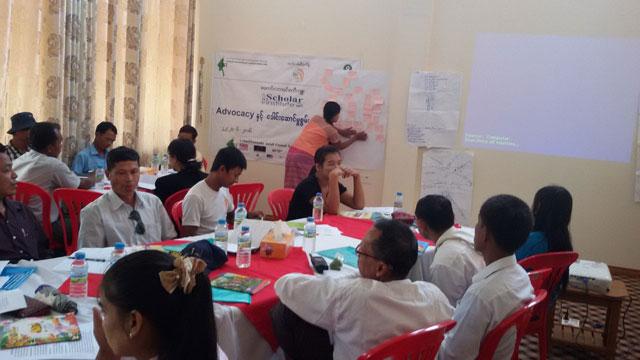 Adovocacy & Leadership training at Kyauk Phy