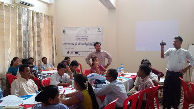 Sharing-Training-Knowleadge-at Kyauk Phyu