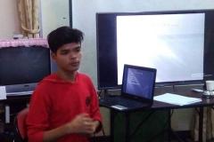 Debating skills and tools are shared to youths by the Debate Organizer-Tun Tun Naing