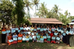 Raw-Ma-village,-Taunggoke
